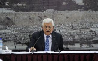 عباس واجهزة الامن