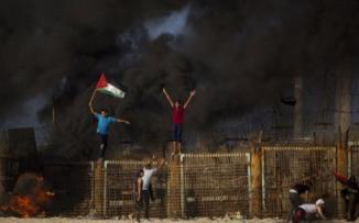 اقتحام الحدود في غزة