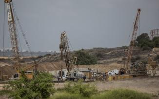السياج الامني بين غزة واسرائيل