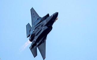 اسرائيل تستخدم طائرة F35  لقصف سوريا