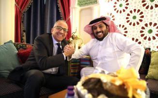 آل الشيخ يشتري سيارة بوغاتي بـ18 مليونا رغم إجرءات التقشف السعودية