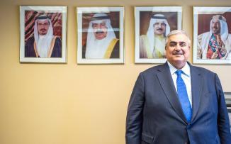 وزير خارجية البحرين: ندعم بالكامل أمريكا في أي تصعيد ضد إيران