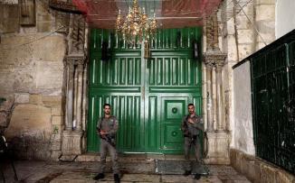 الاردن واسرائيل والمسجد الأقصى