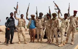 أسر جنود سودانيين في اليمن