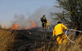 حرائق في مستوطنات غلاف غزة