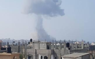 غارات وهمية على غزة