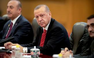 اردوغان والاكراد في سوريا
