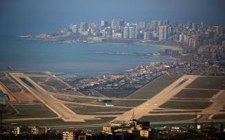 مطار بيروت الدولي والطائرات السورية والايرانية