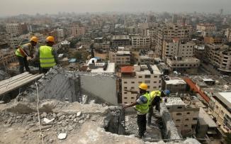 اعادة اعمار قطاع غزة