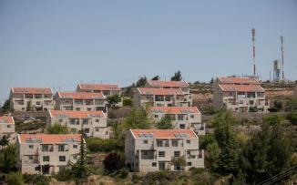 بناء المستوطنات في الضفة الغربية