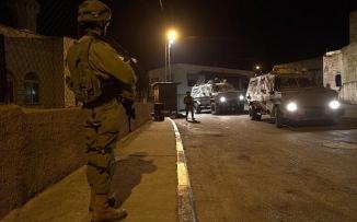 اقتحام مخيم الامعري في رام الله