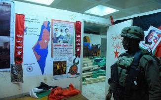 الاحتلال يقتحم جامعة بيرزيت ويصادر مقتنيات من مقر مجلس الطلبة