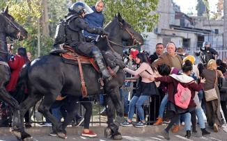 اعتقال شبان مقدسيين