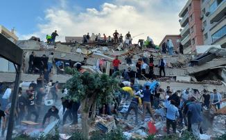 زلزال ازمير