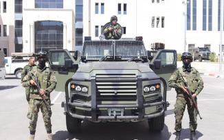 آليات مصفحة جديدة لقوى الأمن الفلسطيني