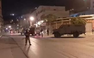 اقتحام الاحتلال والمستوطنين لنابلس