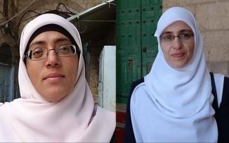 الاحتلال يمدد اعتقال المرابطتين
