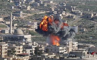 قصف يستهدف ادلب