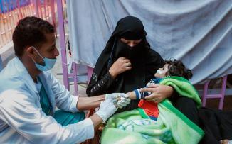 الكوليرا في اليمن