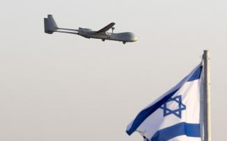 اسقاط طائرة اسرائيلية في لبنان