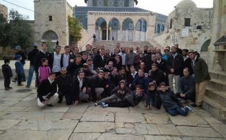 المستوطنين يقتحمون المسجد الأقصى