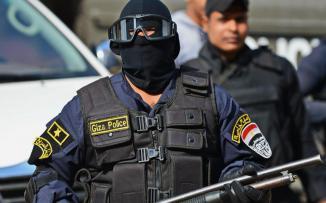 هجوم على قوة امنية مصرية في القاهرة