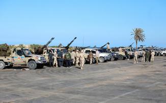 سقوط طائرة حربية في ليبيا