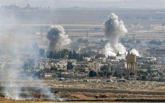 عناصر داعش في سوريا والاكراد وتركيا