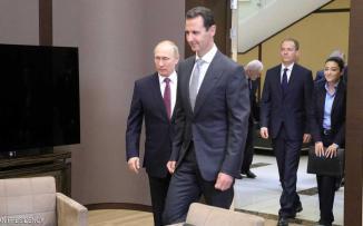 لقاء بوتين الاسد