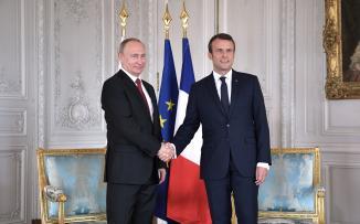 فرنسا روسيا وسوريا