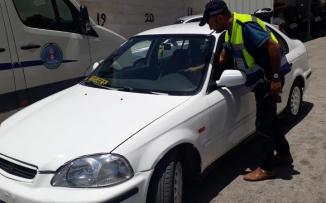ضبط مركبة غير قانونية تقودها فتاة في بيت لحم