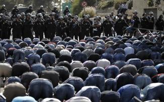 اعتقال مقدسي دعا على الشرطة الاسرائيلية