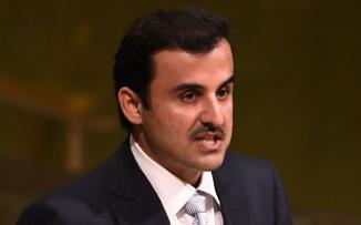 امير قطر القمة الخليجية