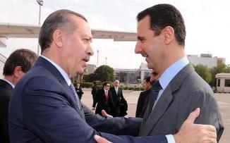 اردوغان وبشار الاسد