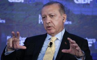 اردوغان والقوات السورية في عفرين