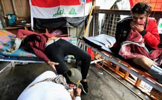 قتلى في العراق بسبب الاحتجاجات