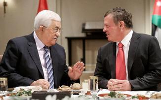 عباس والملك عبد الله