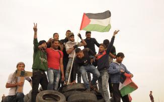 الاحتلال يعتقل 4 فتية بزعم تمكنهم من اجتياز السياج الفاصل شرق البريج