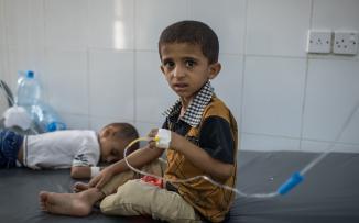 تفشي الكوليرا في اليمن يقتل 2300 شخص