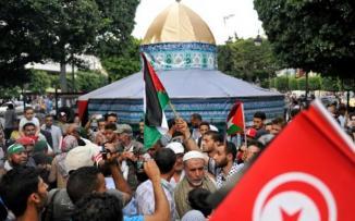 حملة مليون توقيع دعما لفلسطين ورفضا للتطبيع مع