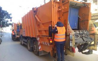 الاحتلال يستولي على شاحنة نفايات في نابلس
