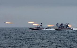ايران والقوات الامريكية في الخليج