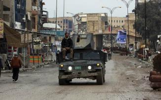 انتشال جثث في الموصل العراقية