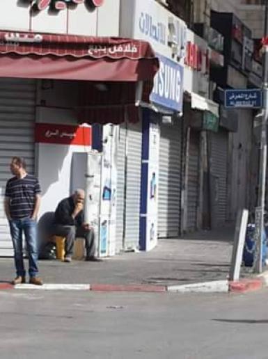 الاضراب يعم المدن الفلسطينية تضامنا مع الاسرى