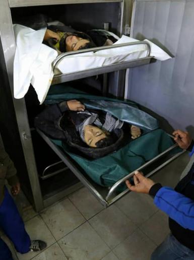 استشهاد شابين في قصف اسرائيلي على غزة فجر اليوم
