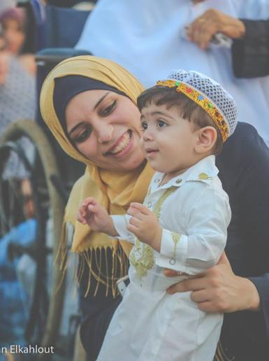 صلاة عيد الفطر السعيد من قطاع غزة