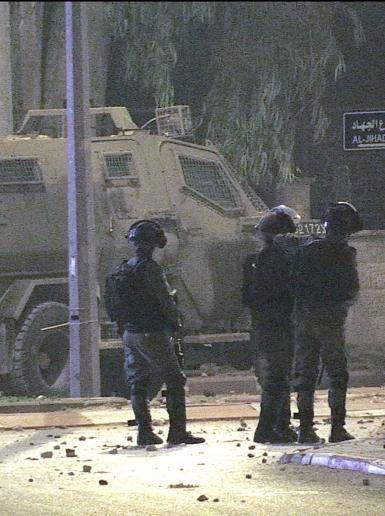 مواجهات بين الشبان وقوات الاحتلال في حي الماصيون برام الله