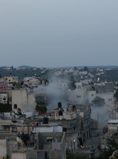 قوات الاحتلال تفجر منزل الشهيد عمر ابو ليلى في بلدة الزواية غرب سلفيت