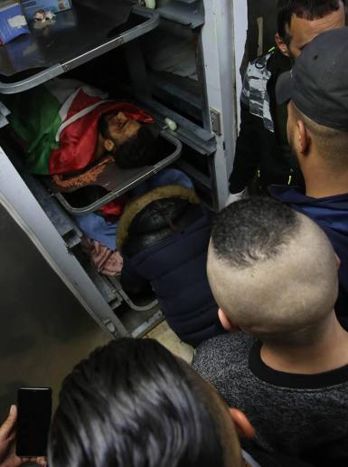 استشهاد شابين برصاص الاحتلال في نابلس فجر اليوم