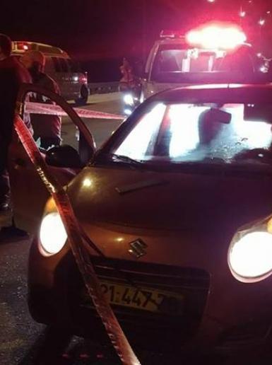 إصابة مستوطن بجروح خطيرة بإطلاق نار جنوب نابلس